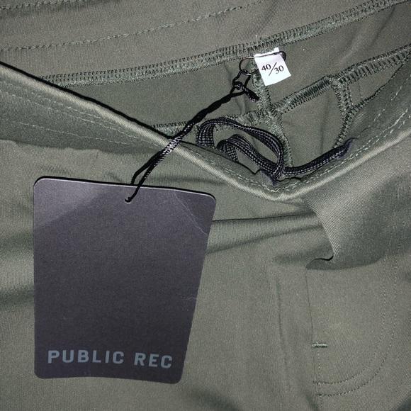 b96fc608425 Public Rec Green pants men s dress 40